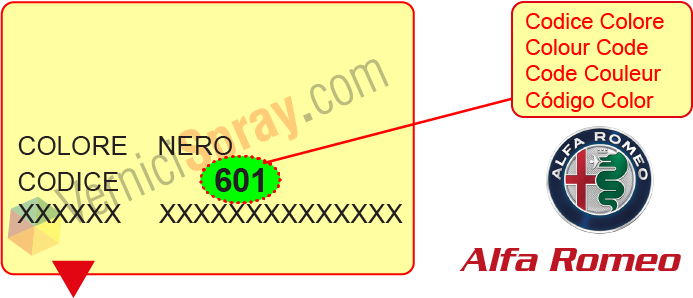 all colour codes for alfa romeo Ducati Paint Codes find the color code alfa romeo